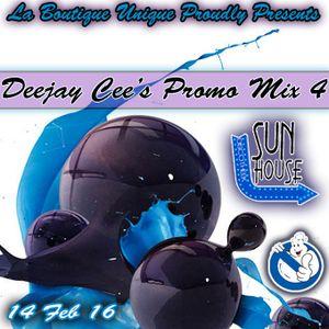 Deejay Cee's Promo Mix Sun House 14-02-2016
