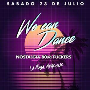 1º We Can Dance 23/07/2016 - Vinyl Night