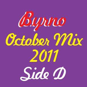 Byrno October DJ mix Side D