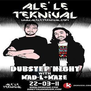 Alè Le Teknival 03.22.2011 - Dubstep Night Rolls Roger