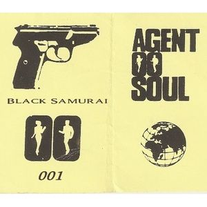 BLACK SAMURAI Agent Double-O-Soul #01