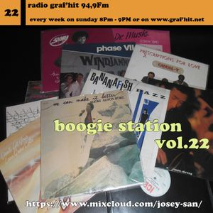 THE BOOGIE RADIO STATION SHOW VOL.22.