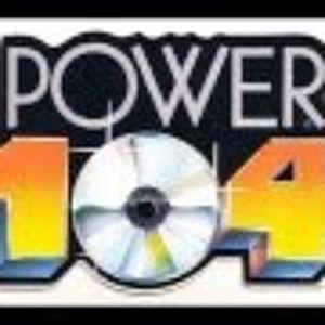 Power 104 Houston - Sat. 16 February 1991 (A1) Sat. Night Power Jam