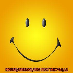 House/Breaks/Big Beat Mix Vol,11 (2015-04)