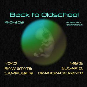 Sampler19 @ Back To Oldschool, 130BPM Online Stream 2013-01-19