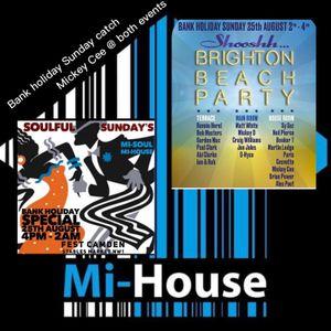 MICKEY CEE / SOULFULLY DEEP / MI-HOUSE RADIO / MON / 19-08-2019
