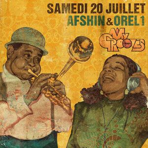 Afshin @ My Grooves, Djoon, Saturday July 20th, 2013
