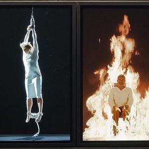 Martyrs (Earth, Air, Fire, Water) - Bill Viola and Kira Perov, Launch Talks