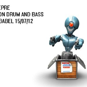 Dj LEPRE Sesion Drum and Bass - CSO Babel 15-07-12