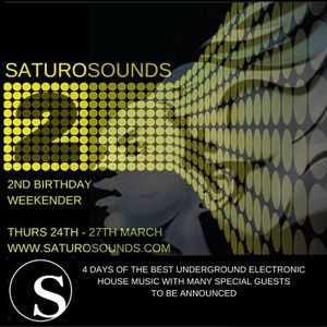 Saturo Sounds 2nd Birthday and Resident's Day 26/3/2016