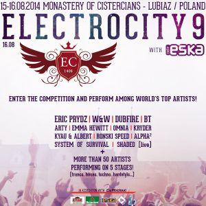 Electrocity 9 with ESKA Contest - [Dj Amaya]