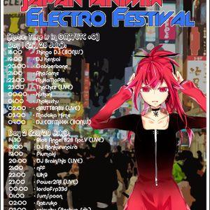 Piumaki @ Japan AniMix Electro Festival 2012