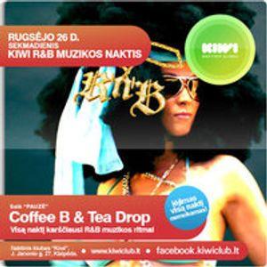 Coffee B - How Low KIWI Go Mix 2010-09-22 @ KIWI Club Every Sunday