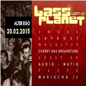"""Guest69 @ """"Bass Planet Official Before Party"""", Alter Ego, Szczecin (20.02.2015)"""