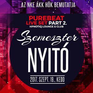 2017.09.19. - ÁKK Szemeszternyitó Part 2. - Purebeat Live Set @ Hpnotiq