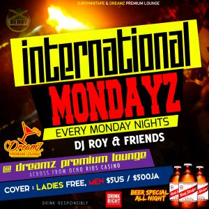 DJ ROY & DJ NIOR AT INTERNATIONAL MONDAYZ 28/1/19 [LIVE AUDIO]
