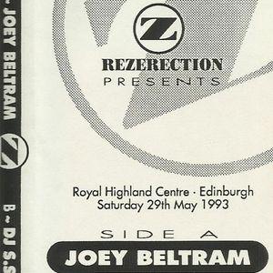 Joey Beltram @ Rez Diamond, 29th May 93