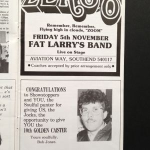 Bob Jones,Froggy & Chris Brown Live at The 10th Caister Soul Weekend Friday 15th Octpber 1982