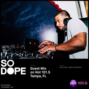 Guest Mix on Hot 101.5 Tampa, FL (123117)