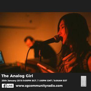 SGCR Radio Show #33 - 25.01.2018 Episode ft. The Analog Girl
