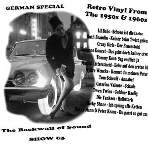 The Backwall of Sound Retro Vinyl from the 1950s & 1960s - Show 63 German Special