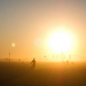 Lee Coombs After The Burn Sunrise Set Burning Man 2014