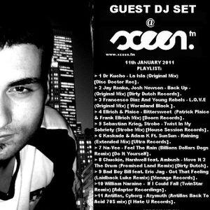 GUEST DJ SET @ SCEEN.FM  ( 11 January 2011 )