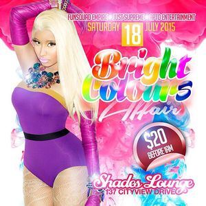 Bright Colours Affair 2015 Promo Mix [July 18th, 2015 @ The Palace]