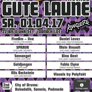 PadMode Live @ Gute Laune Hoch10 01.04.17