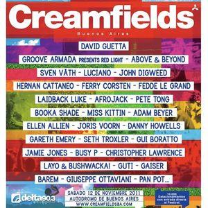 Sven Vath Live @ Creamfields Buenos Aires 2011