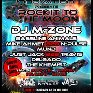 JUST JACK B2B TRAVIS LIVE @ SPACE INNOVATION presents ROCKIT TO THE MOON 7717