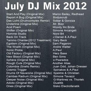 Dave the Drummer - July DJ Mix-  Part 1