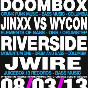 Doombox - Live @ Bass & Bliss - 08/03/13