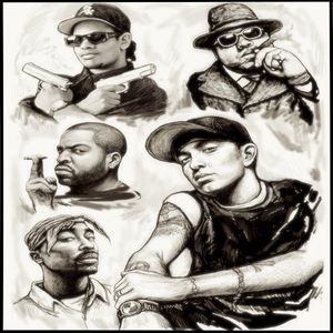 The Beef Mixtape ft 2Pac, Eminem, Nas, Ice Cube, 50 Cent