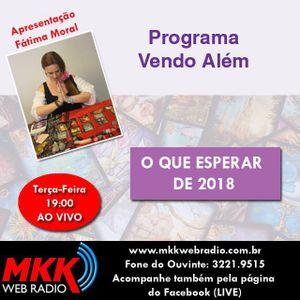 Programa Vendo Alem 14.11.2017 - Fatima Moral
