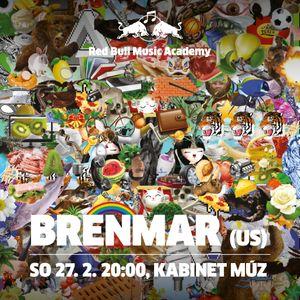 PODCAST Red Bull Music Academy Night w/ Brenmar   Brno