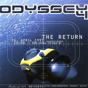 DJ TERRORIST @ Odyssey 4 Roggwil 26-04-1997