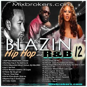 DJ White Rock Blazin Hip Hop and R&B Mix 2014