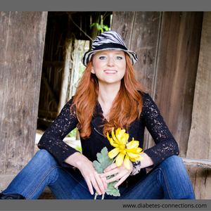 Country Singer/Songwriter Amanda Jo lives with Type 1 Diabetes
