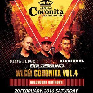 Wlcm Coronita vol.4 - Live@Irish Castle Pub-Steve Judge, Miamisoul, Goldsound