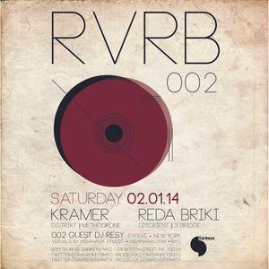DJ Kramer - Live at REVERB 002 @ Sankeys NYC (w/crowd) - Feb 1, 2014