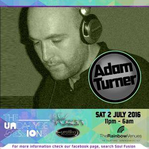 Adam Turner digitally recorded LIVE @ Soul Fusion - Unda-Vybe Session, Birmingham  July 2016