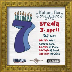 LiveSet@Bar Kultura's Birthday Party // 3th of April 2019