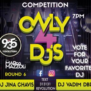 ONLY 4 DJS ROUND 6
