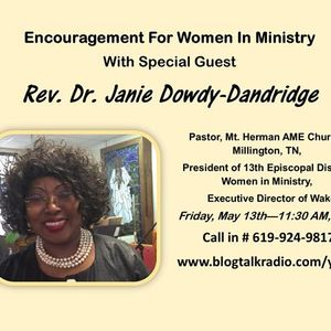 Encouragement for Women in Ministry