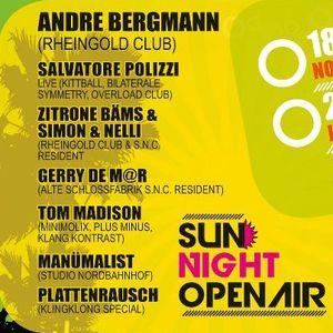 Gerry de M@r_Sun Night Open Air_Mainfloor_Dirty Summer Liveset_23.06.2012 Rockstar Solingen