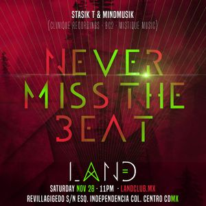 Stasik T & Mindmusik Recorded Live @ LAND - November 28th, 2015