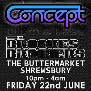 """Brookes Brothers """" The Buttermarket Shrewsbury 22/06/12 competition"""