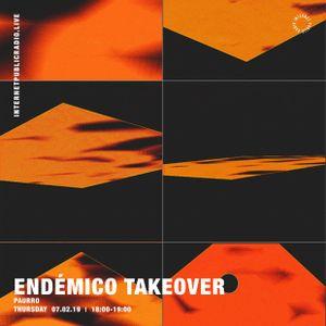 Endémico Takeover: Paurro - 7th February 2019
