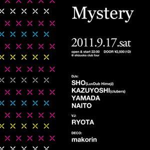 DJ sho / 2011-9-17 Mystery @club four  2:30am~3:30am